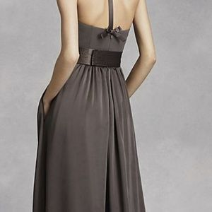 Vera Wang Dresses - Vera Wang Formal Dress with Leg Slit